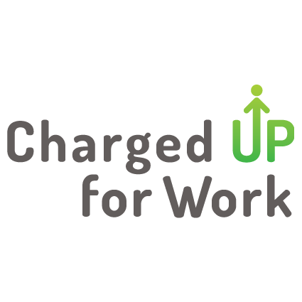 Charged Up for Work logo