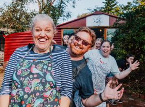 Photo of Jo, Ronald, and other Cafe Mojo Mundaring Staff